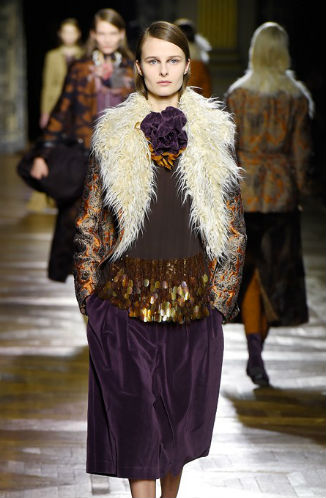 Dries Van Noten jesen/zima 2015-16.