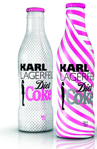 Karl Lagerfeld i Coca Cola Light